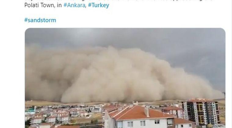 【サンドストーム】トルコの首都に「巨大な砂嵐」が出現…街を覆い尽くし、飲み込まれる映像が凄い