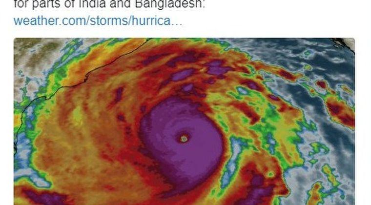 【アンファン】インドとバングラデシュに近年、最強クラスの「サイクロン」が接近中!数百万人が避難する事態に