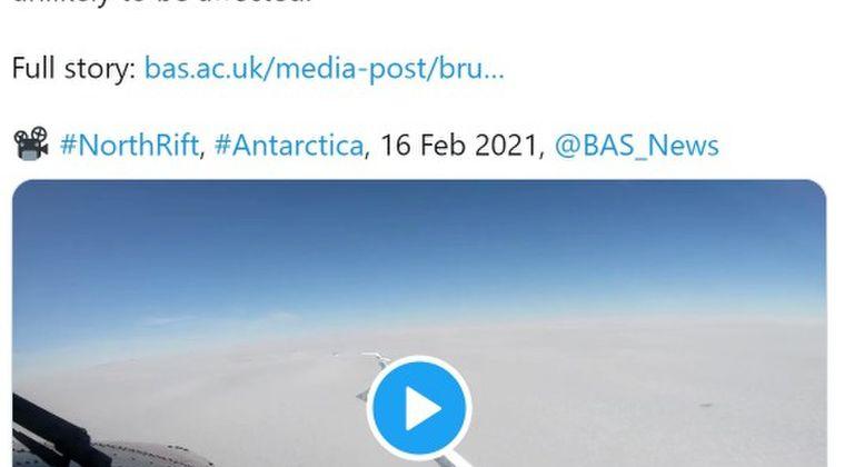 【動画あり】南極の「巨大氷山」が分離…とんでもない亀裂が出来てしまう