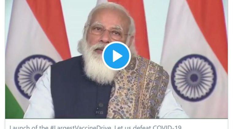 【インド】 「世界最大のコロナワクチン接種」スタート!初日から30万人…モディ首相「7月までに3億人に接種だ」