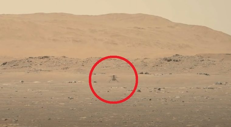 【火星】NASAの宇宙ヘリコプターが初飛行…約40秒の歴史的なフライトの動画を公開