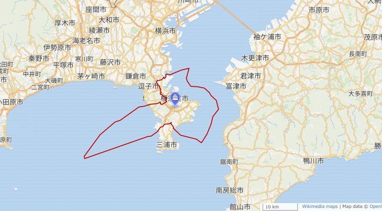 【前触れ】神奈川でまた異臭騒ぎ!横須賀の海岸沿いで「ガスのような匂い」がするとの通報相次ぐ