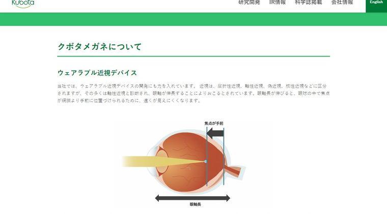 【クボタメガネ】レーシック手術をしなくても1日1時間かけるだけで視力が回復するメガネが登場…10万円するけど視力治るならいいよな?