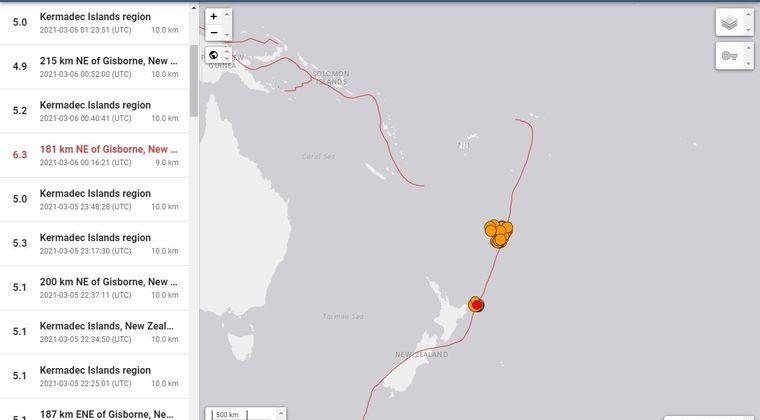 【警戒】ニュージーランドで連発したM8クラスの大地震…教授「プレートは日本の兄弟分」「バヌアツの法則っていう都市伝説がある」