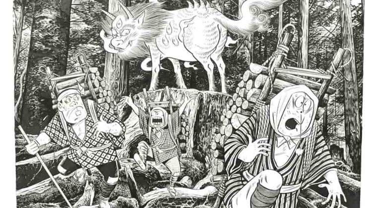 新型コロナウイルス対策に霊獣クタべ?「絵を見れば難を逃れる」と言い伝え 水木プロダクション