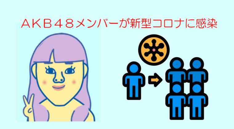AKB48が新型コロナ感染 クラスターか「プライベートでメンバー達と接触」