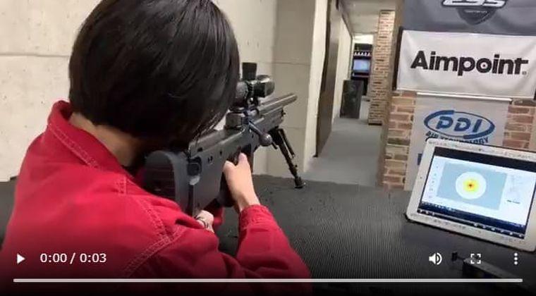 宮本佳林ちゃん、射撃の腕前を緊急報告「狙撃銃打った時の動画です。」