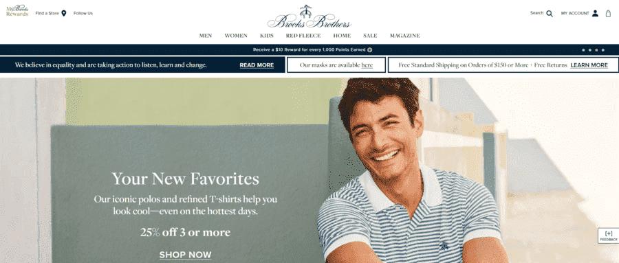 ブルックスブラザーズが経営破綻 アメリカ発・世界最古の紳士服ブランド
