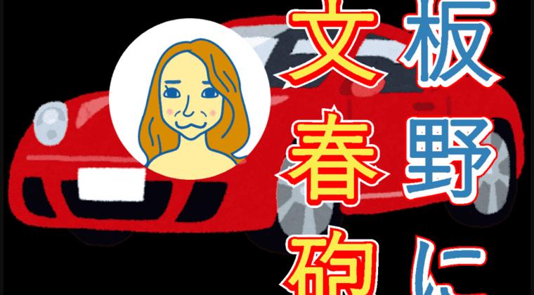 元AKB48 板野友美 (28) 「44億円破産」の接骨院からポルシェ供与【文春砲】