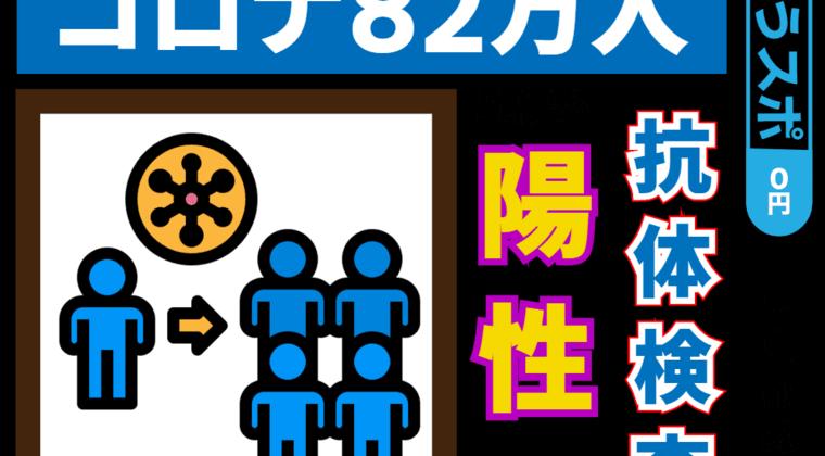 【新型コロナ】東京都の抗体検査による疫学調査、5.9%と判明
