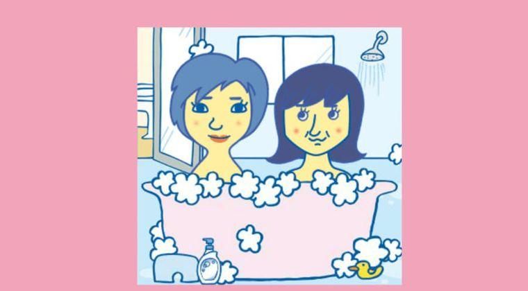 【かえちぃ gif 画像 まとめ】加賀楓&森戸知沙希「腕組んでる?」と話題に