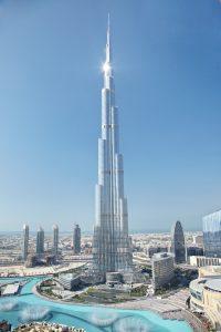 一番高い高層ビルの高さ 中国632m、韓国555m、北朝鮮330m、日本300m