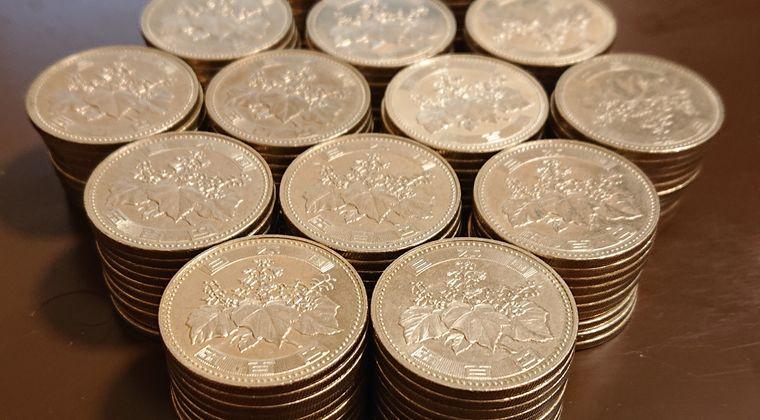 【画像】わいの500円玉貯金、7万円を超える #貯金
