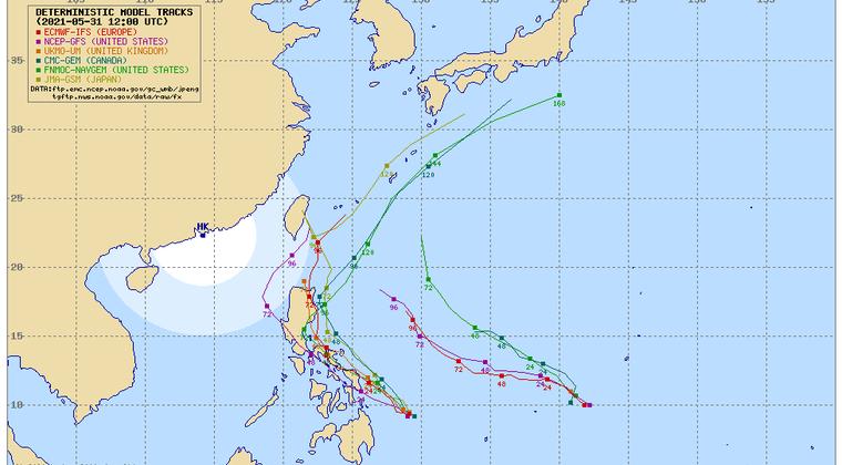 【気象】台風3号「チョーイワン」が発生!日本近海へ北上のおそれも