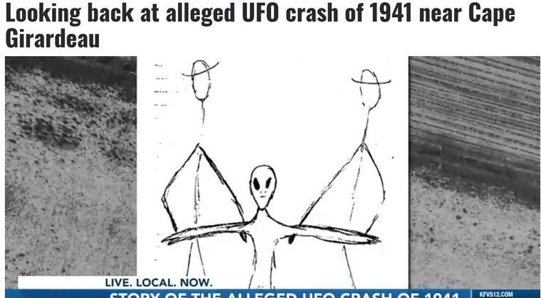 【1941年】アメリカ・ミズーリ州で起きたケープジラード「UFO墜落事件」は、なぜ隠蔽され続けているのか?