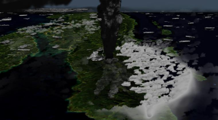 【カタストロフィ】人口を10分の1に減少させたトバ火山の超巨大噴火…今も危険な状態になっている事実