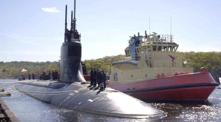 【アメリカ海軍】シーウルフ級攻撃型原子力潜水艦「コネティカット」がインド太平洋地域を潜水航行中、「未確認物体」に衝突したと発表