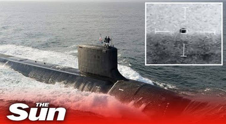 【UFO】アメリカ海軍の原潜がソナーで捉えた「謎の物体」海底基地からやって来たのか…水中を数百ノットという「前例のない速度」で移動