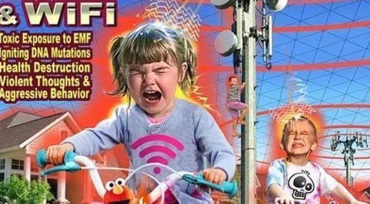 【第5世代移動通信】5Gの危険性がひと目でわかる画像