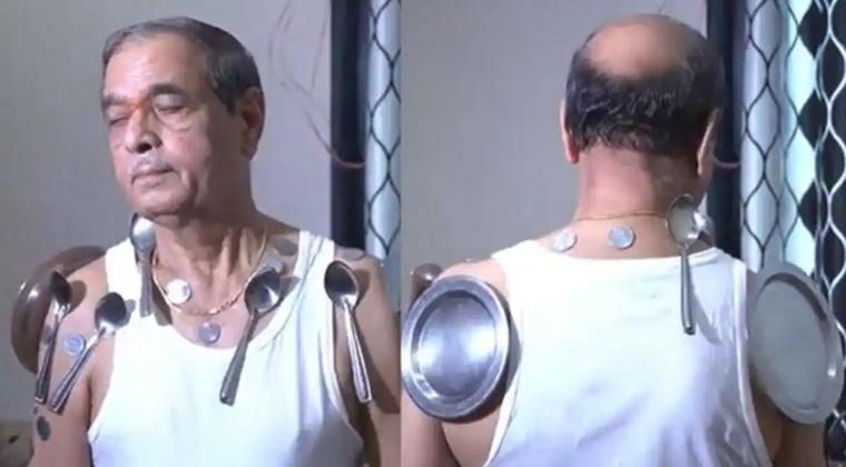 【動画あり】アストラゼネカのコロナワクチンで全身に磁力を帯びてしまった人が出現…インド人男性「スーパーパワーを手に入れた」