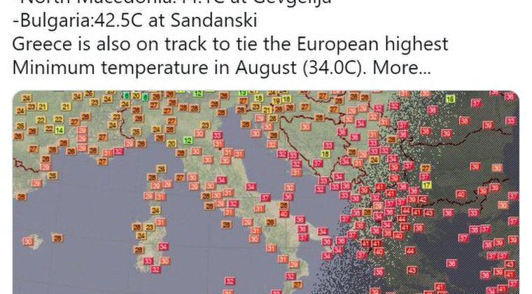 【異常気象】ギリシャで最高気温「47.1℃」を突破…ヨーロッパの観測史上最高、欧州南部で続く記録的猛暑!山火事多発で大気汚染も悪化中