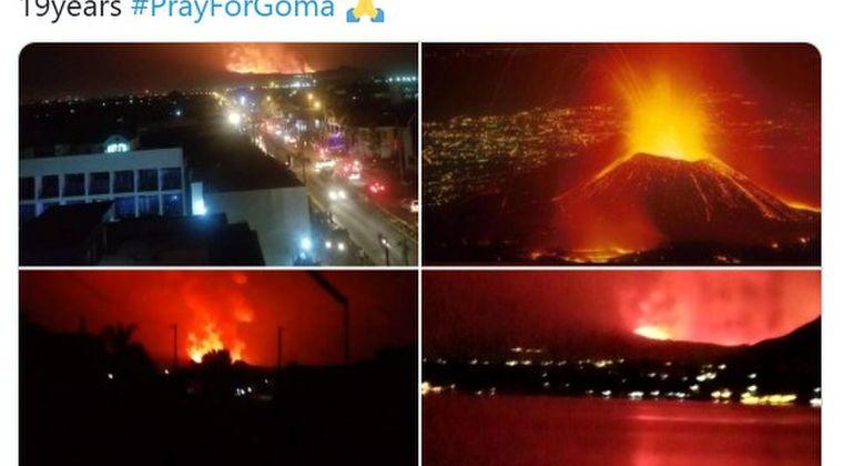 【アフリカ】コンゴにあるニーラゴンゴ火山が噴火!東部ゴマに避難命令…空港にまで溶岩が流れてしまう