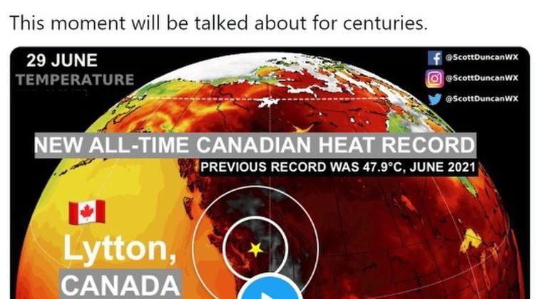 【熱波地獄】 カナダで最高気温「49.5℃」を突破!記録的な高温で70人が犠牲に…3日連続で最高気温を更新中