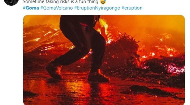 コンゴ共和国での火山噴火で火山性有毒ガスも発生…また住民は「溶岩の上を歩かないで」と呼びかけ