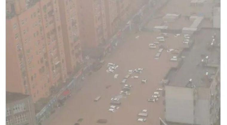 【中国】「1000年に一度」の大雨…死者・行方不明者も、河南省