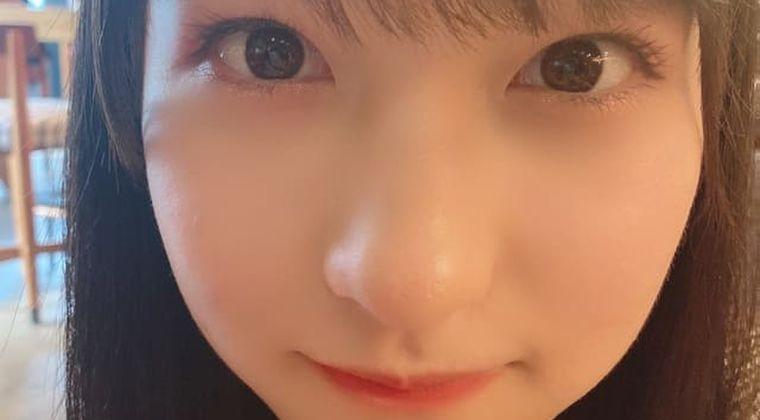 モー娘。北川莉央ブログ顔面度アップ画像にヲタ騒然「瞳を拡大したら〇が」
