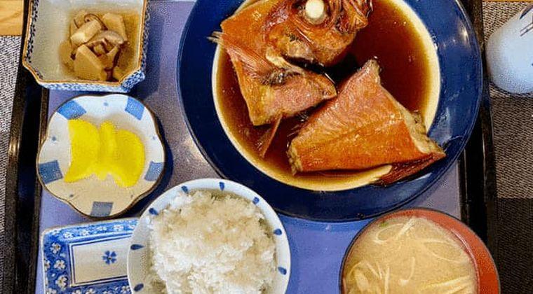 孤独のグルメ 9 二宮駅 金目の煮付け定食(恋人セット)の店名・場所はどこ!?