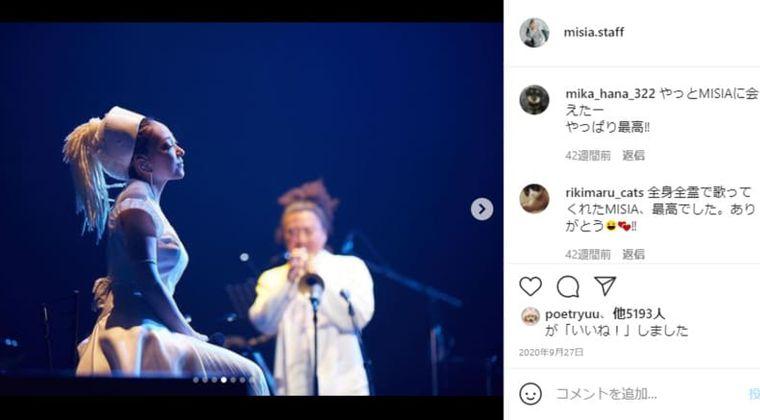 MISIA(ミーシャ)wiki経歴・本名は?東京五輪の開会式で国歌「君が代」を斉唱