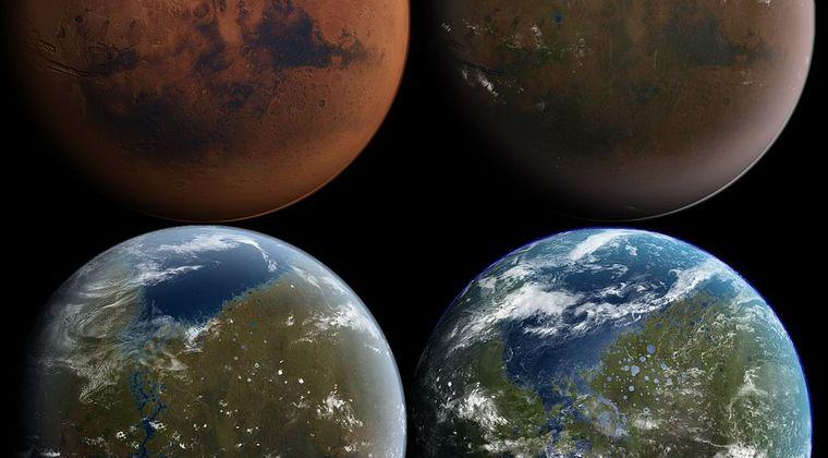 太古の火星は塩水でたたえていた「塩湖」が存在した!生命に適していた環境だった模様