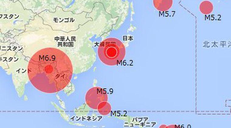 【環太平洋火山帯】 世界各地で地震が活発化…バヌアツでもM6.0クラスの地震が連発中!