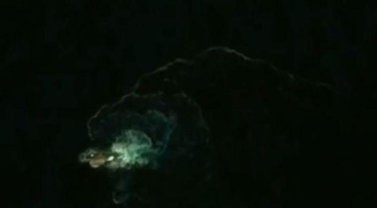 【伝説】北欧伝承の海の怪物「クラーケン」がGoogle Earthで見つかる!100メートル級の大きさか