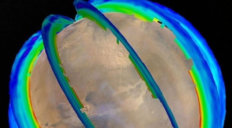火星に「巨大な砂嵐」シーズンが存在することが判明!火星全体の3分の1の規模の大きなモノで3週間続くことも