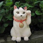 すず音窯 招き猫