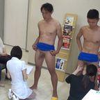 内科医で男性検査を受けるノンケさんたちの記録映像を入手しましたw
