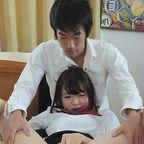 イケメンAV男優鮫島君の半挿し巨根、無修正でぶっとい血管も丸見え!