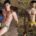台湾の男性ヌード電子写真集で、このイケメン君のチンポは見れるのか(2)