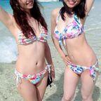 【ポロリ待ち】夏の浜辺はハチ切れそうな水着おっぱい天国【ビーチ】