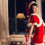 湊莉久 サンタコスでお出迎え…クリスマス・イブを性なる夜に。