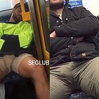 公共の場所で股間がムクムクしちゃっても、男だもの仕方ないよねw