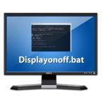 ディスプレイの消灯時間を簡単に切り替えるDisplayonoff.batを作ってみた!