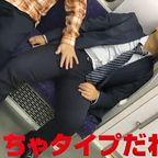 電車内で酔いつぶれてるスーツのパパリーマンのチンポはしゃぶれる!
