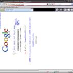 おもしろ検索サイト2! 90度回転のGoogle検索