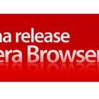 ウェブブラウザ「Opera 9.5」alpha版を公開!