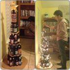 手抜き?いえユーモアです…色々なクリスマスツリーの画像の数々!!