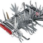 色々付いてる!お値段約100万円のツールナイフが凄い!!