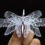 もはや不死鳥!美し過ぎる『折鶴』の画像の数々!!